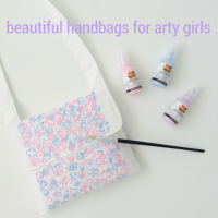 BCG Paint Your Own Handbag